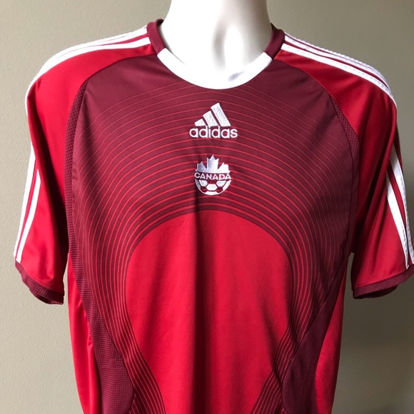 522ef7739 adidas Other - Adidas (S) Red ~ CANADA ~ Soccer Jersey